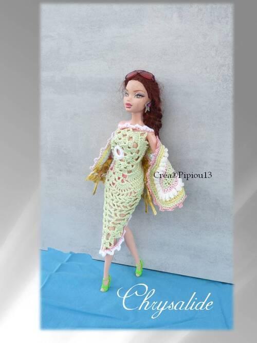 """Barbie en modèle """"Chrysalide"""""""