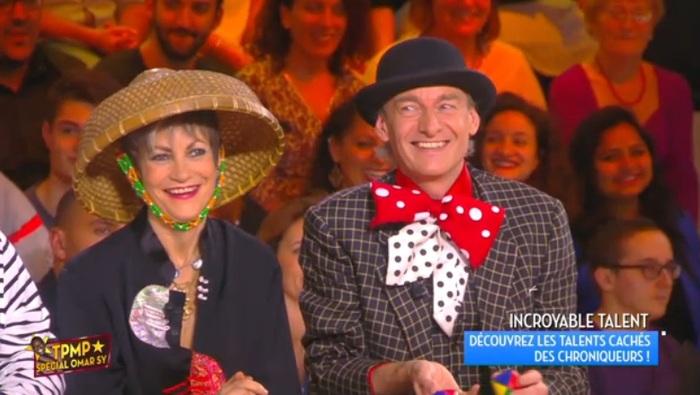 Mardi Gras à la télé.