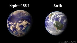 """Kleper 186f """"La planète jumelle de la Terre"""""""