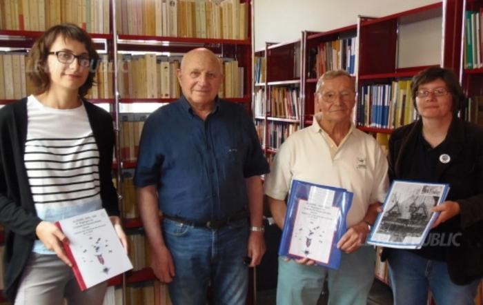 Beaune (Côte-d'Or) ***  Archives Municipales ***  Des documents remis par deux Beaunois  concernant la guerre d'Algérie