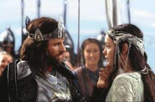 Arwen et Aragorn