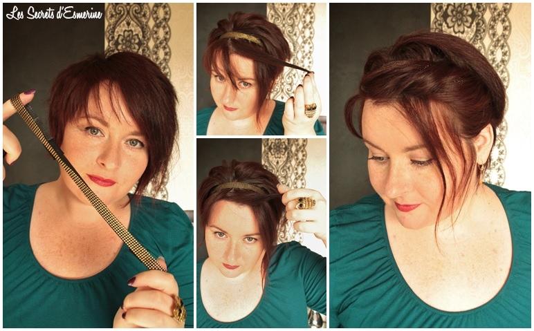 La Folie Du Headband Pour Cheveux Courts Vive Le Retro Chic
