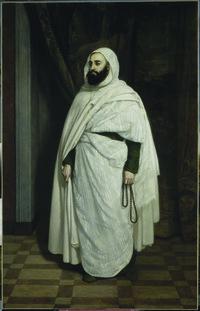 L'Emir abd el Kader par Ange Tissier