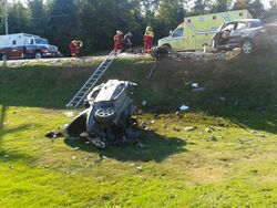 12 septembre 2012 Accident Lac-Drolet