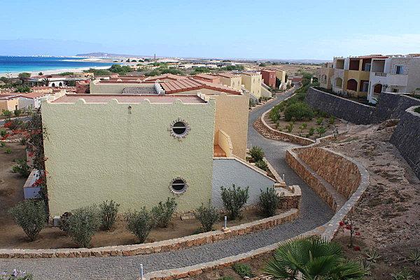 Hôtel Royal Décameron dans le style capverdien