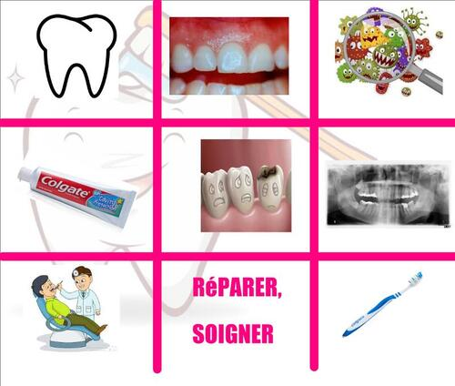 CM1SC - From hands to ... mouth ! TAKing care of your teeth