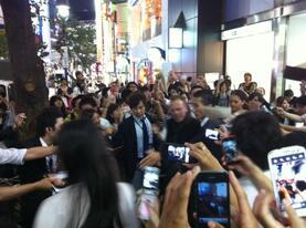 Promo au Japon Sept 2012