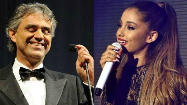 """Andrea Bocelli & Ariana Grande """"E Piu Ti Penso"""""""