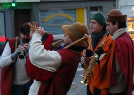 Quatuor bombarde, biniou, clarinette et saxo