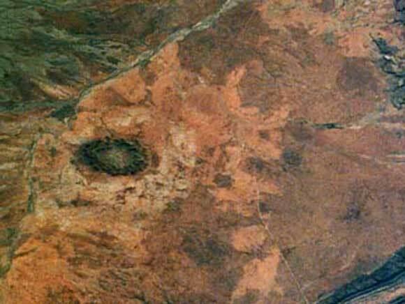 Cratère d'impact de Gosses Bluff