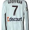 Yoan GOUFFRAN : Maillot porté avec BORDEAUX 06.02.2010.