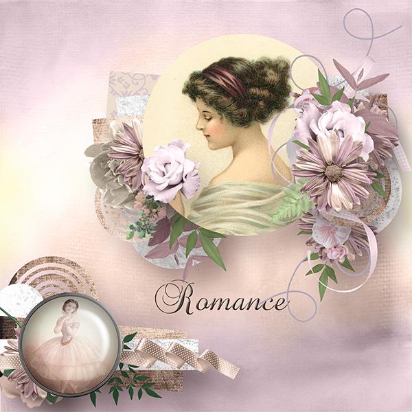 Romance de Angelique's Scraps