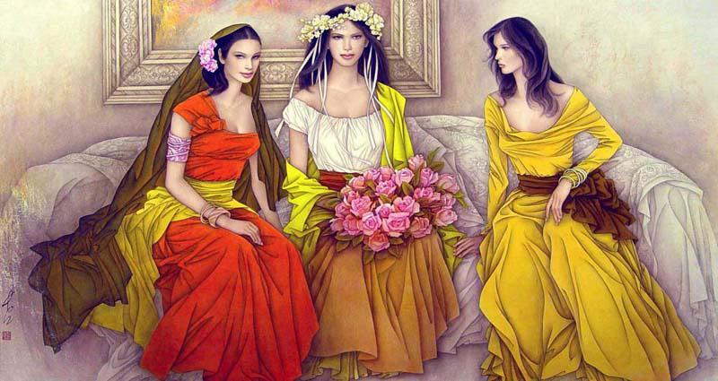 Belles Images:  5 Images de  Belles Femmes