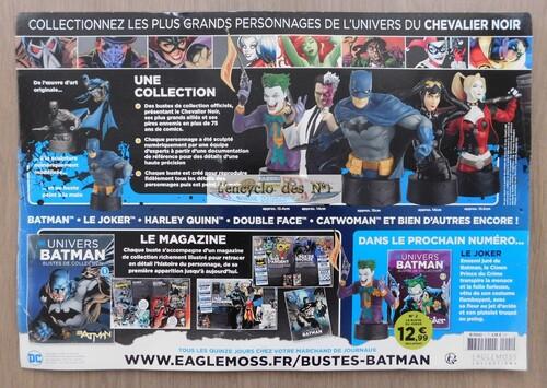 N° 1 Univers Batman bustes de collection - Test