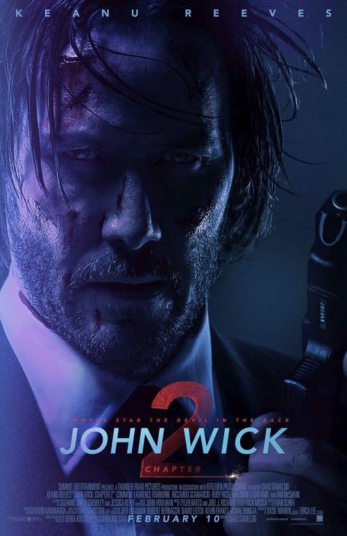 """Bonsoir a l'honneur : """" John Wick 2 """""""