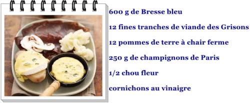 Raclette bressane