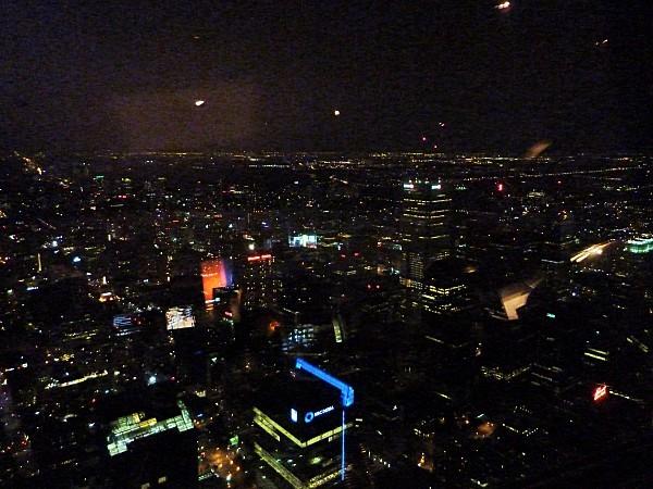 Toronto vue de la CN Tower nuit