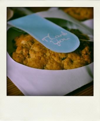 Géant cookies aux noisettes