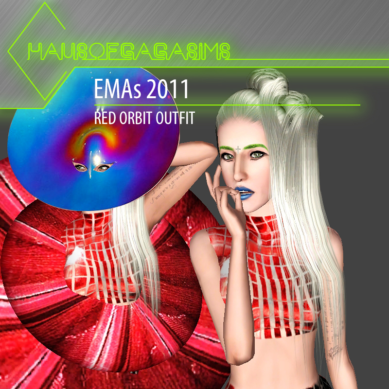 MTV EMAs 2011 PACO RABANNE RED ORBIT OUTFIT