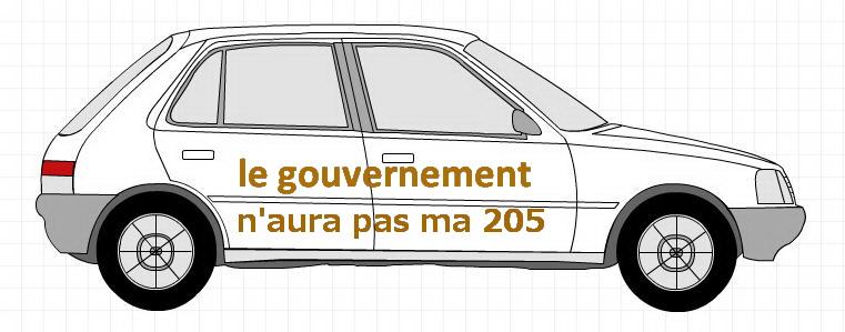 Le diesel dans le collimateur du gouvernement. Jamais deux cent cinq…