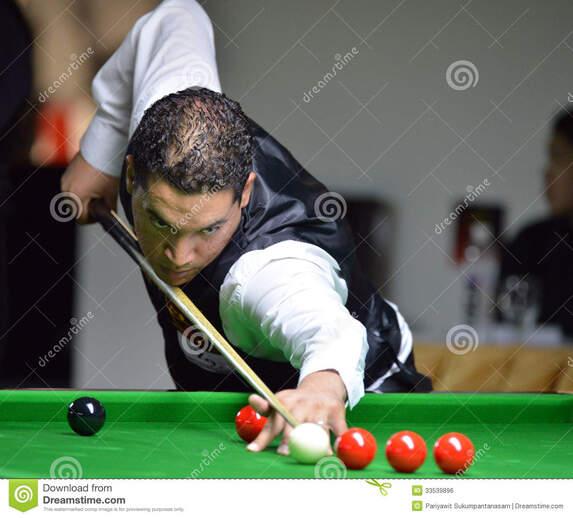 le marocain chaouki youssfi qui a gagné ronnie o'sullivan au snooker