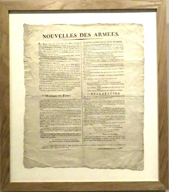 Robert Fries a commenté deux affiches  que l'Association des Amis du Musée ont offertes au Musée du Pays Châtillonnais