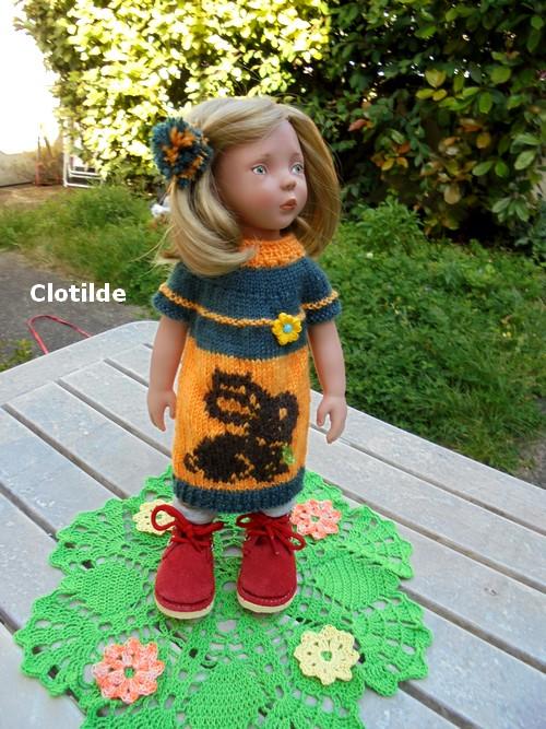 Clotilde l'adore !