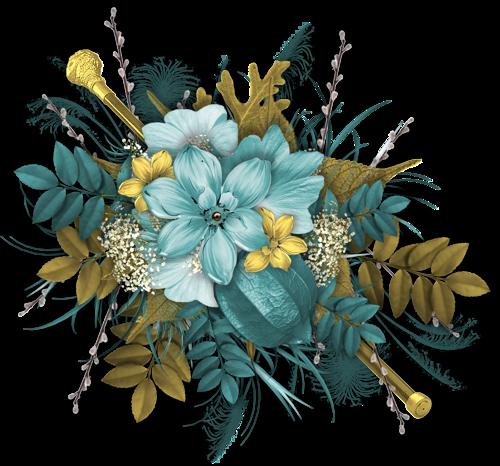 Ornements Floraux Série 22