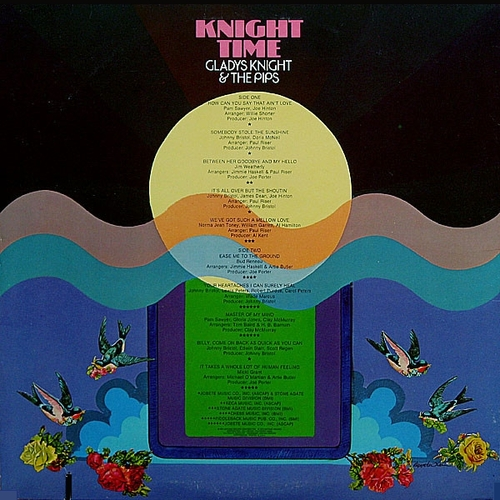"""Gladys Knight & The Pips : Album """" Knight Time """" Soul Records S 741V1 [ US ]"""