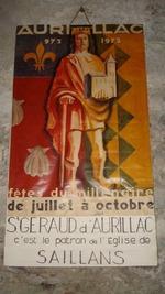Affiche dans l'église de SAILLANS début 2011.