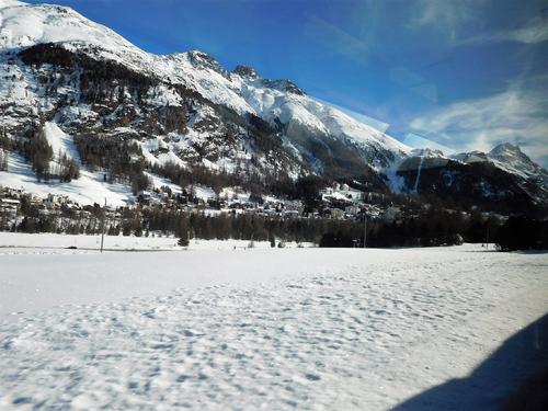 30/01/2018 Bernina Express Saint Moritz GR Suisse # 1 Aller