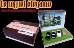Coffret 4 miniatures Elégance - Hors-série