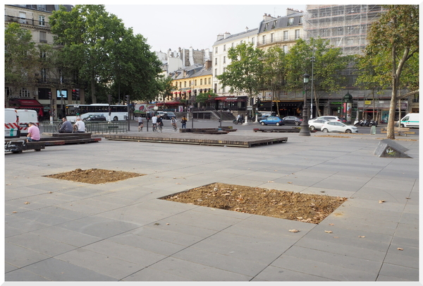 Place de la République. Paris