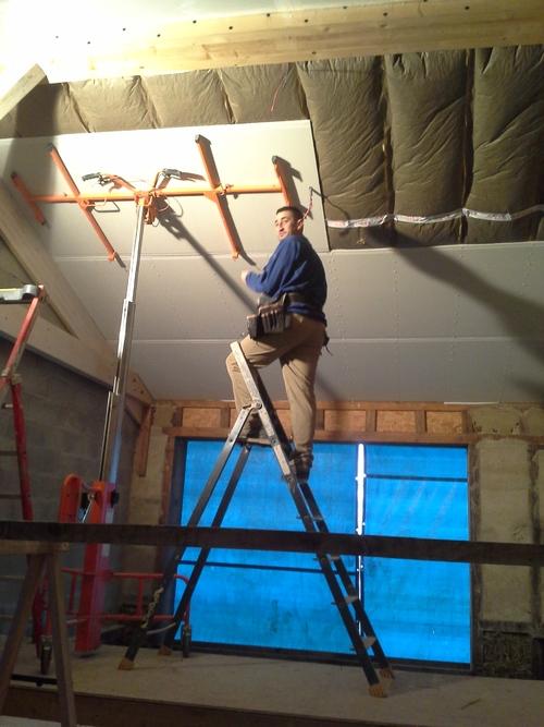 Fermacell Plafond en paille: 07 Janvier 2015