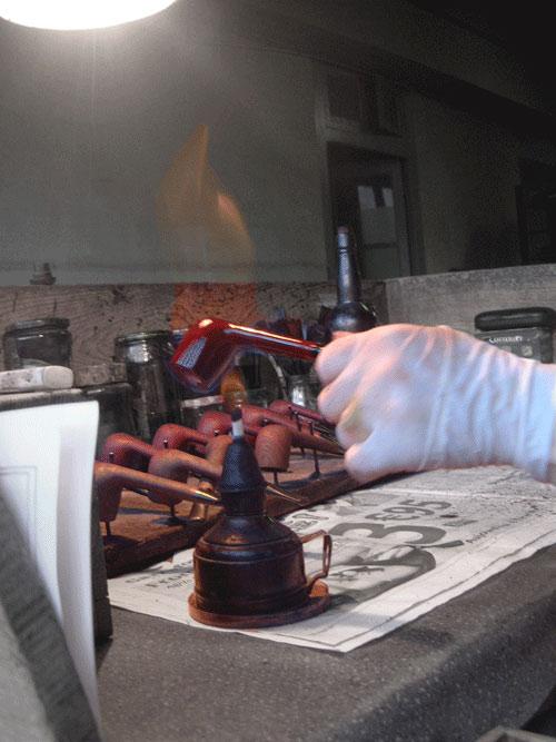 badigeonnage pipe