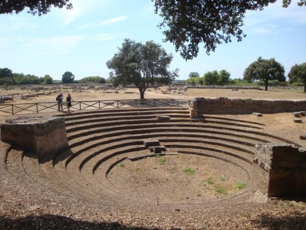 Paestum, amphithéâtre, 2