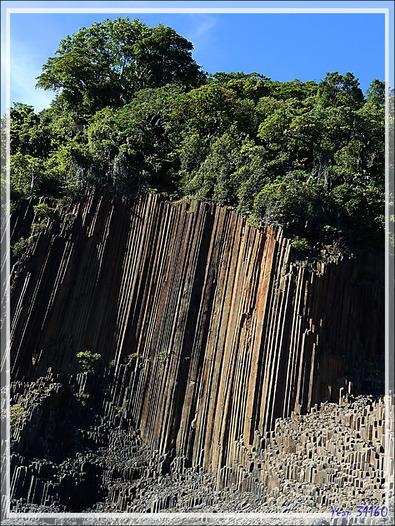 Orgues basaltiques - Grande Mitsio - Madagascar