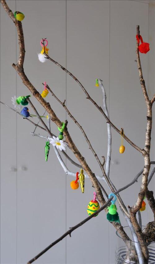 L'arbre de Pâques de Léa
