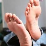 Odeurs de pieds