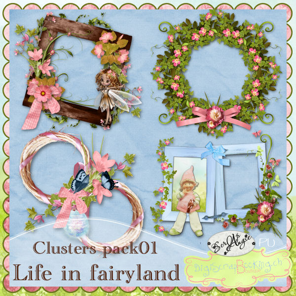 """Life in Fairyland"" part 1 by Scrap'Angie"