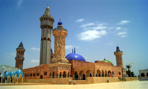 Sénégal: la mosquée mouride de Touba