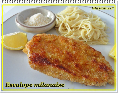 Escalopes milanaises