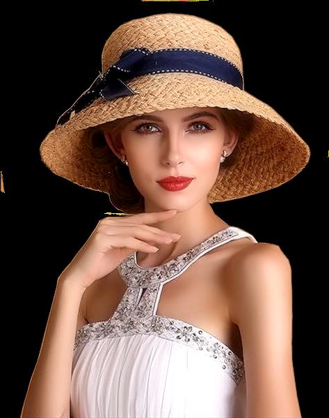 Tubes femmes chapeaux création 2