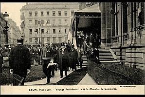 Le-President-Fallieres-a-la-Chambre-de-Commerce-de-Lyon-mai