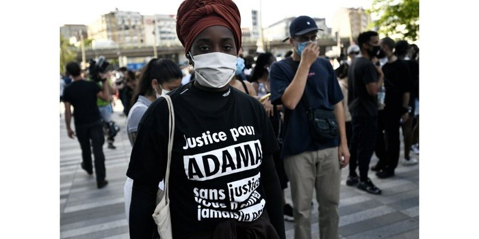Adama Traoré : manifestations dans plusieurs villes, 20 000 personnes à Paris