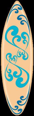 Tubes planches de surf en png