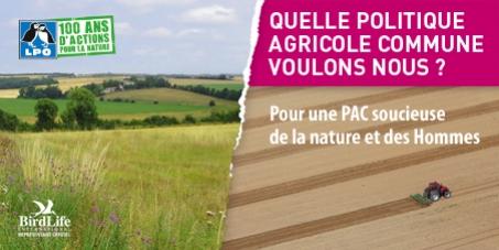 Pour une Politique Agricole Commune soucieuse de la nature et des Hommes.