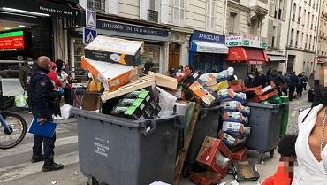 Ca c'est Paris !!! Enfin celui d'Hidalgo et de l'immigration ...