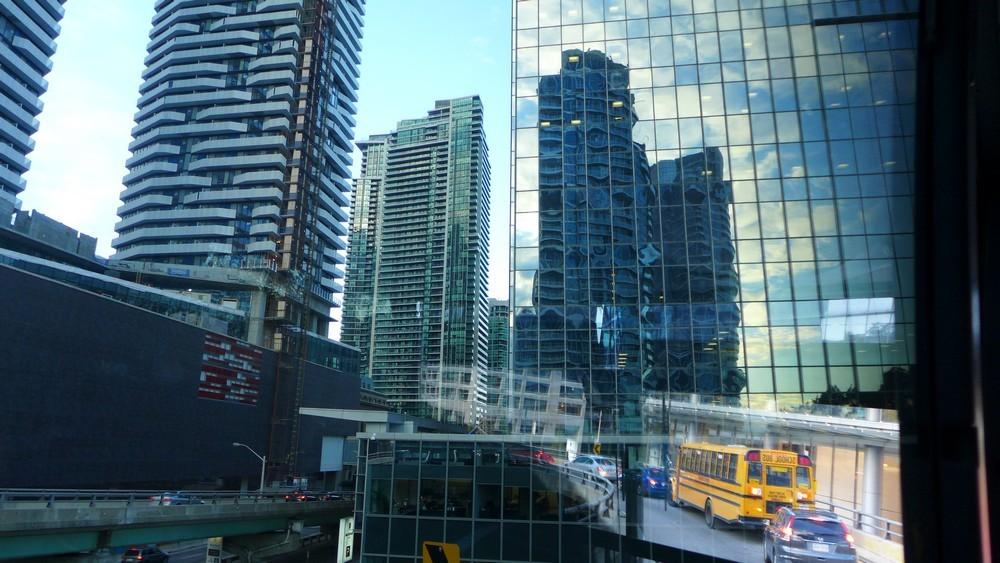 Reflets à Toronto...