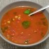 soupe de pois chiches a la tomate